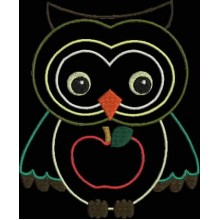 AUTUMN OWL APPLIQUE